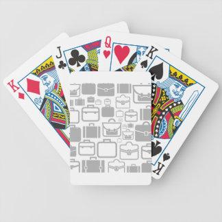 Portfolio ein Hintergrund Bicycle Spielkarten