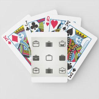 Portfolio eine Ikone Bicycle Spielkarten