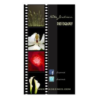 Portfolio-Visitenkarte-Fotoschablone Visitenkarten