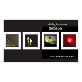 Portfolio-Visitenkarte-Fotoschablone