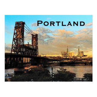 Portland-Brücken-Postkarte Postkarte