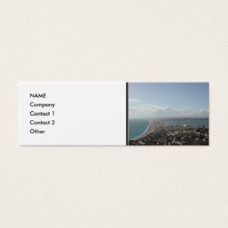Portland-Hafen. Dorset, Großbritannien Mini Visitenkarte