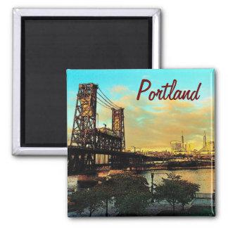 Portland-Magnet Quadratischer Magnet