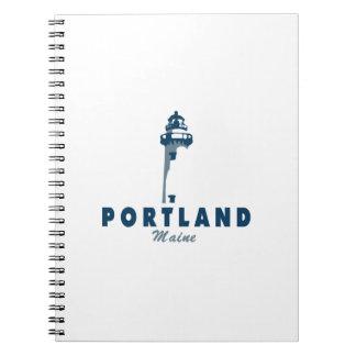 Portland Maine (5) Notizblock