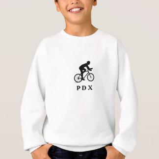 Portland Oregon, das PDX Akronym radfährt Sweatshirt