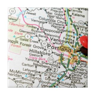 Portland, Oregon Keramikfliese