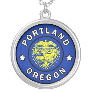 Portland Oregon Versilberte Kette