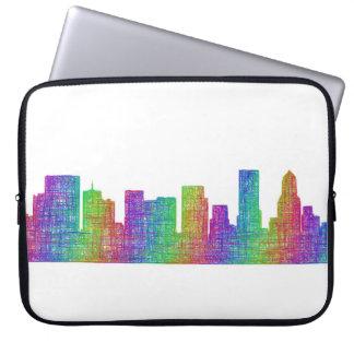 Portland-Skyline Laptopschutzhülle