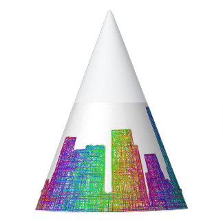 Portland-Skyline Partyhütchen