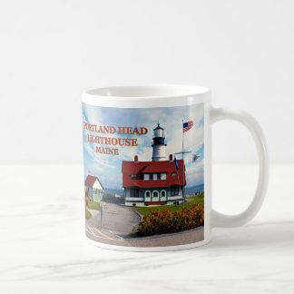 Portlandhauptleuchtturm, Maine-Tasse Kaffeetasse