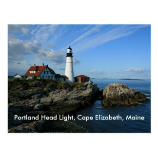 Portlandhauptlicht, Kap Elizabeth, Maine Postkarte