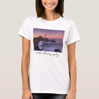 Portlandhauptlicht, Posten-Hurrikan Graf-T - Shirt