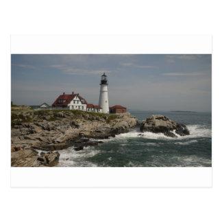 Portlandhauptlicht Postkarte
