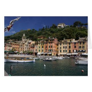 Portofino, Italien Karte