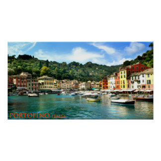 portofino Italien Poster