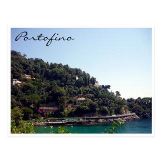 portofino Küste Postkarte