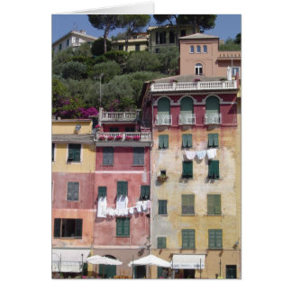 Portofino, leere Anlass-Karte Italiens Karte
