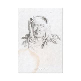 Portrait of P. Tournemine Leinwanddruck