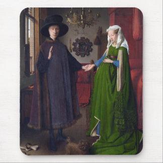 Porträt 1434 JAN.S VAN EYCK- Arnolfini Mousepad