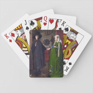 Porträt 1434 JAN.S VAN EYCK- Arnolfini Spielkarten