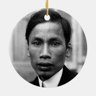 Porträt 1921 Ho Chi Minhs Nguyen Ai Quoc Keramik Ornament