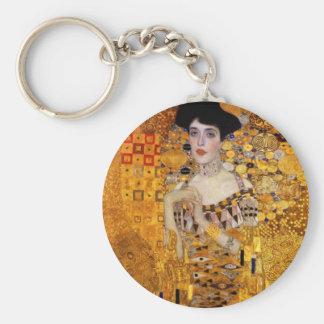 Porträt Adele Bloch-Bauers durch Gustav Klimt Schlüsselanhänger
