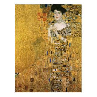 Porträt Adele Bloch-Bauers Postkarte