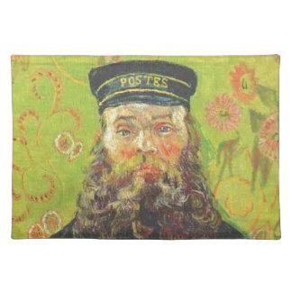 Porträt-Briefträger Joseph Roulin - Vincent van Tischset