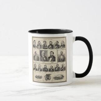 Porträt der Bauholz-Händler, Minnesota Tasse