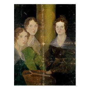 Porträt der Bronte Schwestern, c.1834 Postkarte