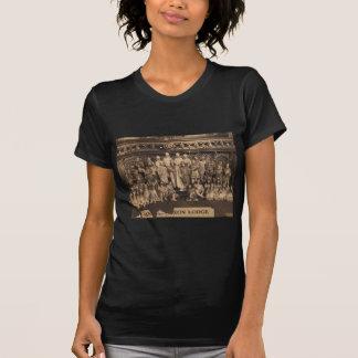 Porträt der Freimaurer des angelsächsischen T-Shirt