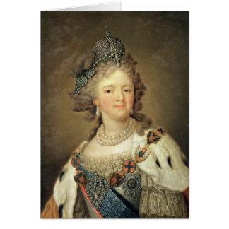 Porträt der Kaiserin Maria Fyodorovna Karte