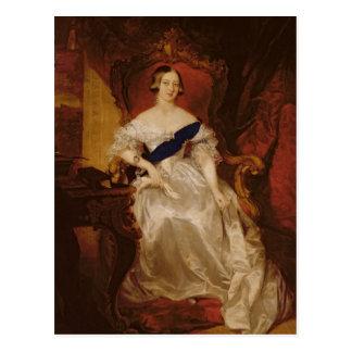 Porträt der Königin Victoria Postkarte