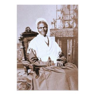 Porträt der Sojourner-Wahrheit circa 1870 12,7 X 17,8 Cm Einladungskarte