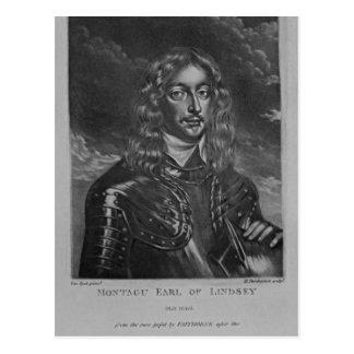 Porträt des 2. Grafen von Lindsay Postkarte