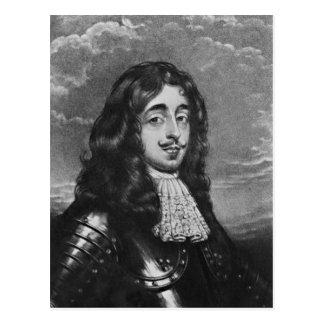 Porträt des 8. Grafen von Derby Postkarte