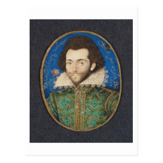 Porträt des Grafen von Pembroke, 1617 Postkarte