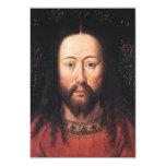 Porträt des Jesus Christus bis Januar van Eyck 8,9 X 12,7 Cm Einladungskarte