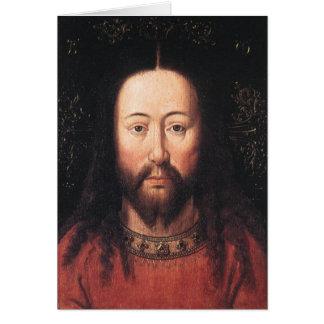 Porträt des Jesus Christus bis Januar van Eyck Karte