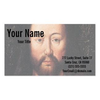Porträt des Jesus Christus bis Januar van Eyck Visitenkarten