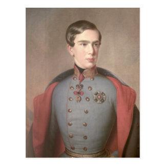 Porträt des Kaisers Franz Joseph von Österreich Postkarte