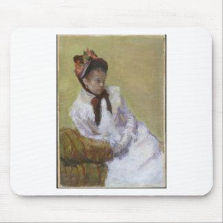 Porträt des Künstlers - Mary Cassatt Mousepad
