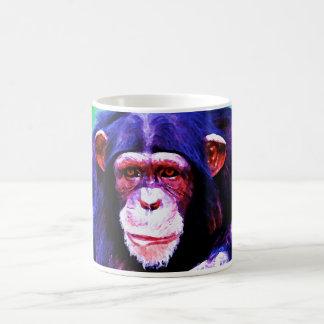 Porträt des Schimpansen Kaffeetasse