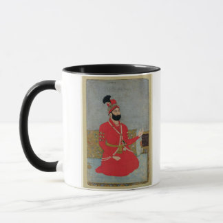 Porträt des Tiefpunkts Shah Afshar von Persien Tasse