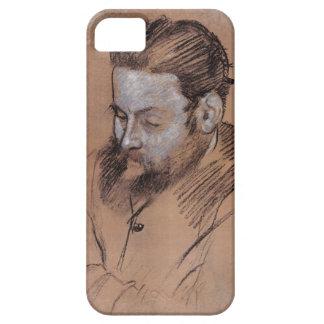 Porträt Edgar Degass | von Diego Martelli iPhone 5 Case