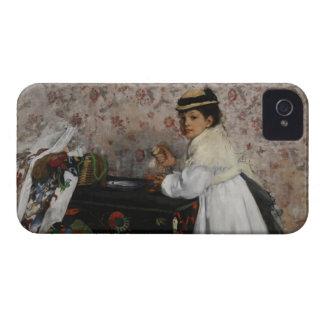 Porträt Edgar Degass | von Fräulein Hortense iPhone 4 Cover