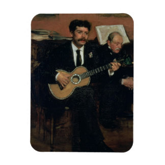 Porträt Edgar Degass | von Lorenzo-Heiden Magnet
