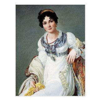 Porträt einer Dame Postkarte