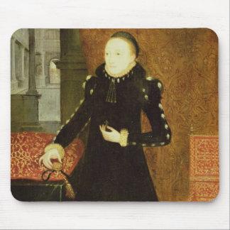 Porträt einer Dame, wahrscheinlich Katherine, Mousepad