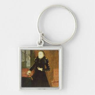 Porträt einer Dame, wahrscheinlich Katherine, Schlüsselanhänger